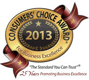 2013 Consumers's Choice Award Winners