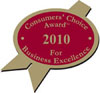 2010 Consumers's Choice Award Winners