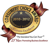 2012 Consumers's Choice Award Winners