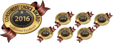 Consumers Choice Award - Six Years
